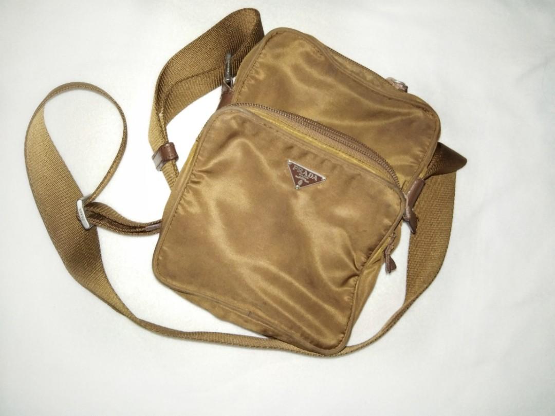 b094b0ce7 Prada Sling Bag, Men's Fashion, Bags & Wallets, Sling Bags on Carousell