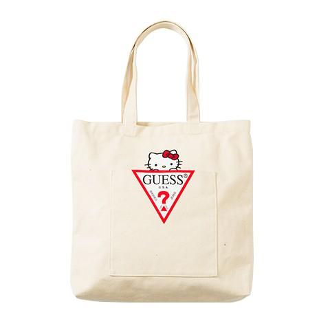 5b48acce9c8e PRE-ORDER  GUESS × Hello Kitty Capsule Collection Tote Bag