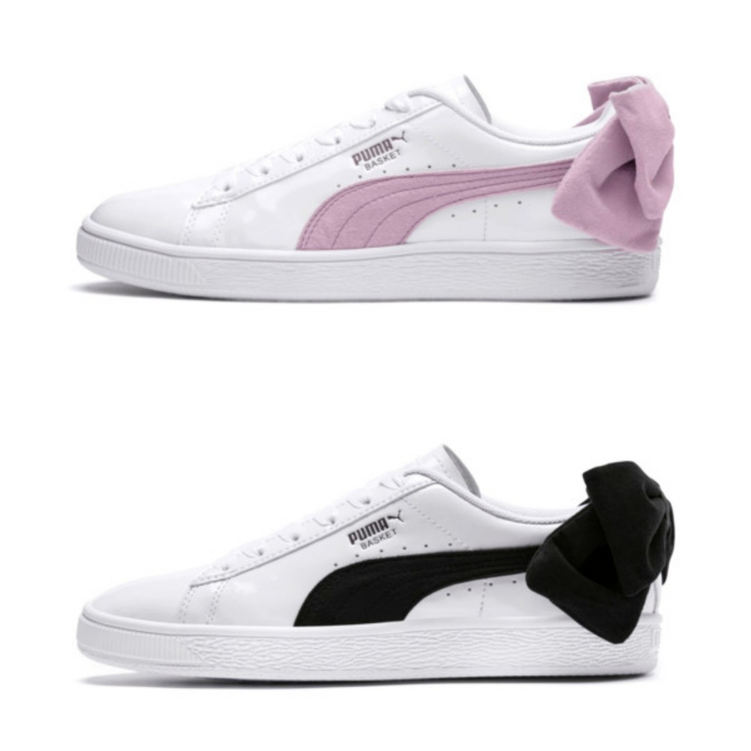 Puma Suede Bow Women s Sneakers   b63837d367