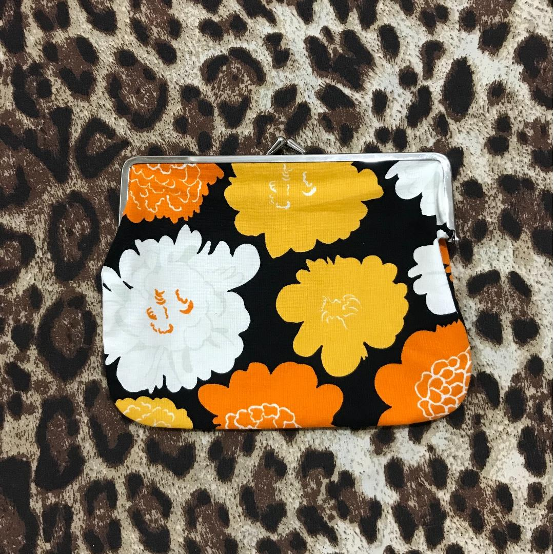 Real Marimekko purse (linen with firm snap clasp) - gorgeous and roomy!