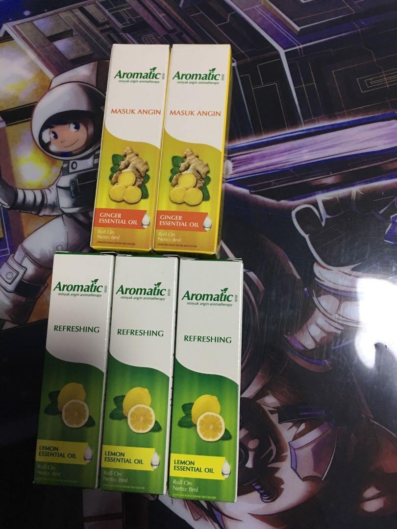 Roll on Ginger/Lemon essential oil