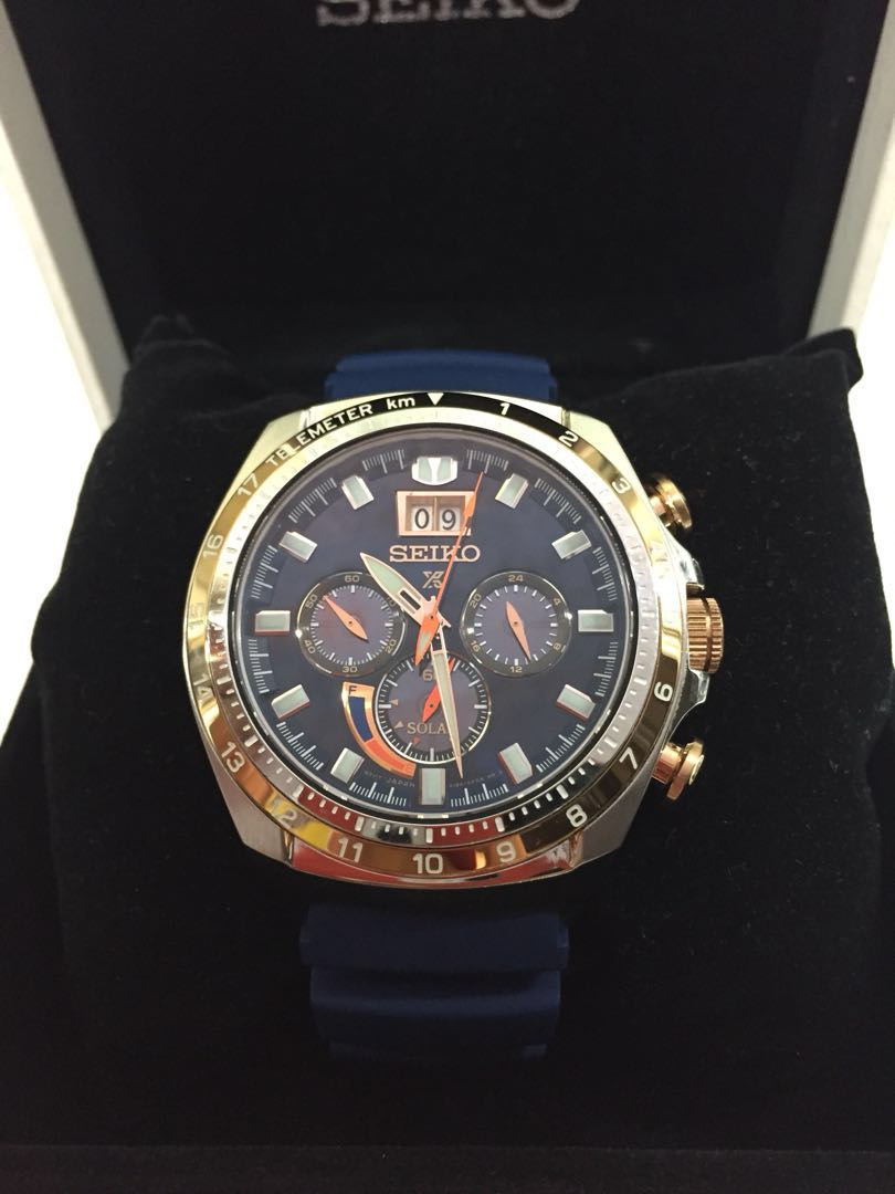 Seiko Prospex Solar Chrono Especial Edition Mens Fashion Watches Sbdc029j Shogun Titanium On Carousell