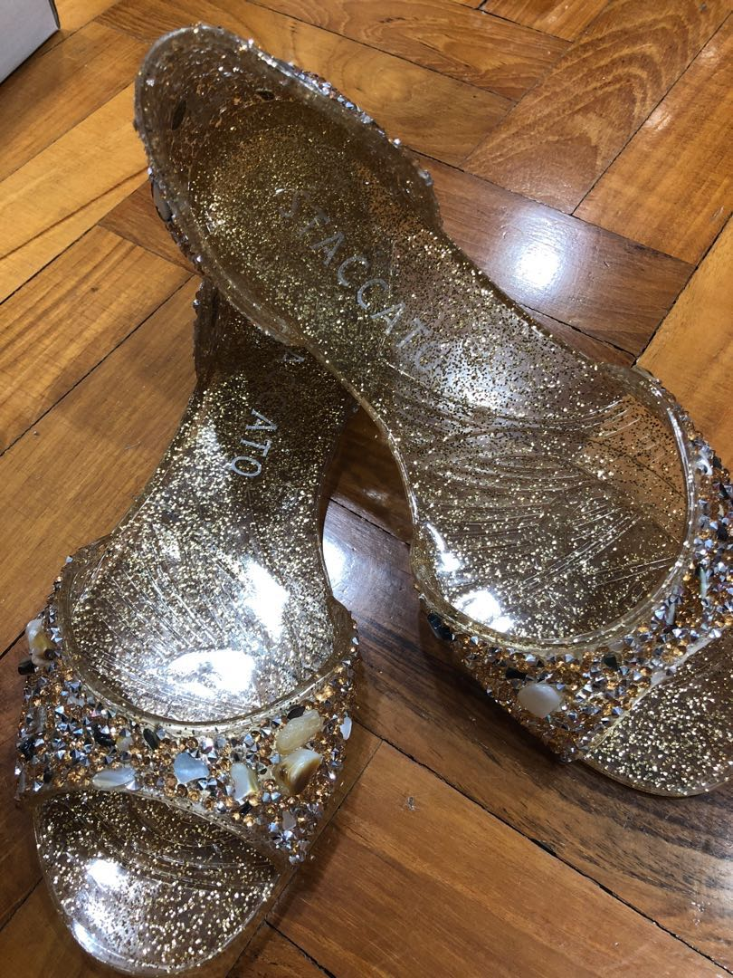 Staccato Gold jelly shoe 550232065b
