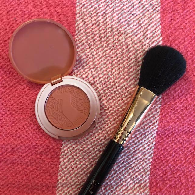 Tarte blush, mascara, and lipstick set
