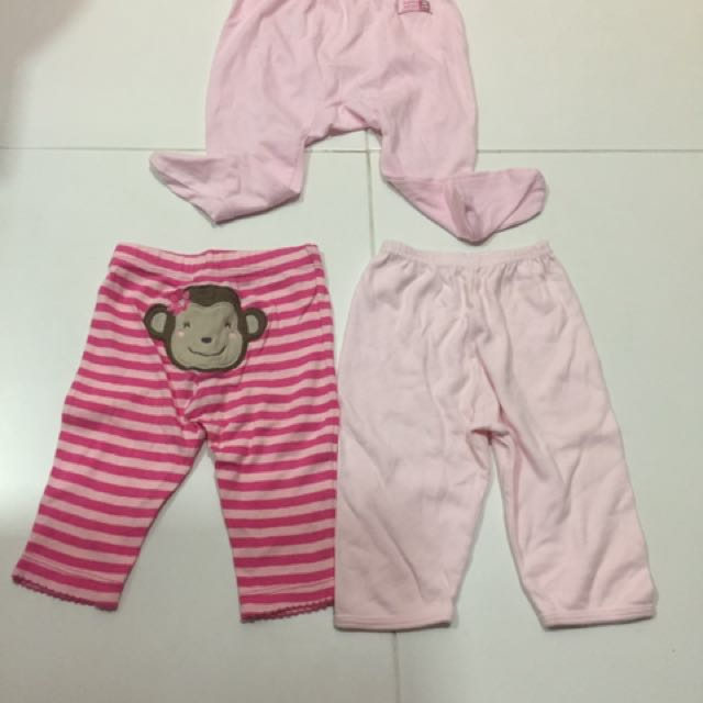 58046a751 (Total 8 pcs) Preloved used bundle newborn to 6 months old baby girl  clothing