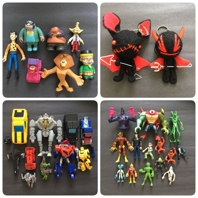 Action Figures Toys & Hobbies Considerate Toy Bundle Figures