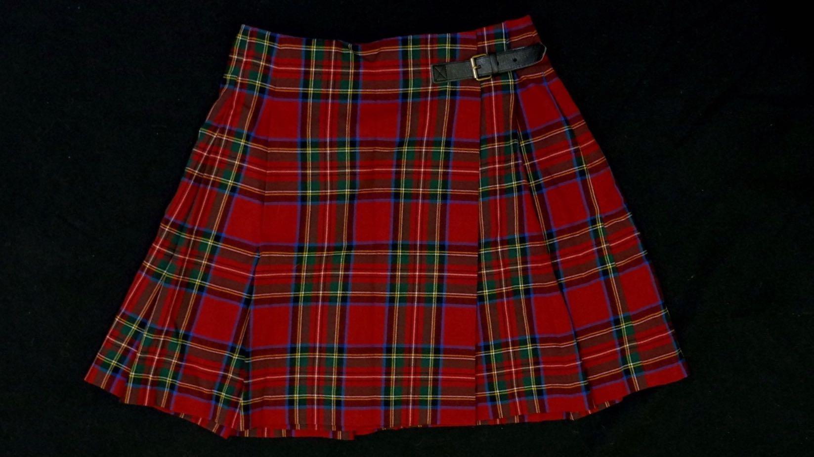 2ffc42b4b Uniqlo Checkered Skirt on Carousell