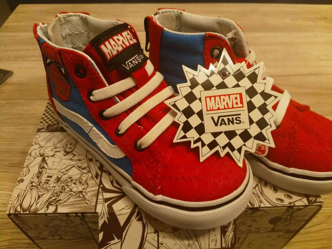 eb02290929 Vans x Marvel Limited Edition   Spiderman Shoes
