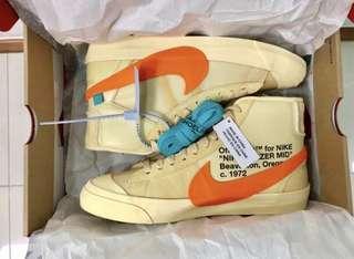 Off White Nike Blazers