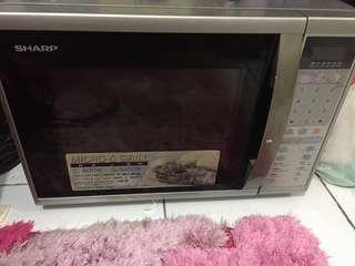 Microwave Sharp micro & grill