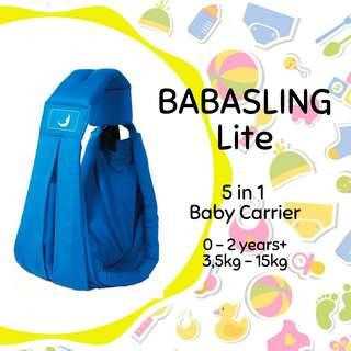 BABASLING baby carrier (disewakan) @babyelrent