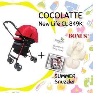 Stroller cocolatte (disewakan) @babyelrent