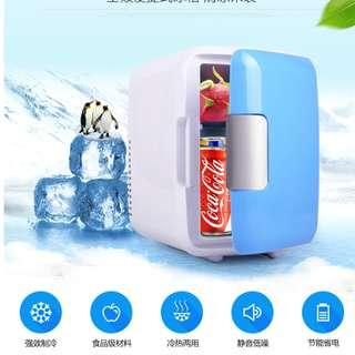 Mini 2in1 Fridge Car / Home Refrigerator 4L Liters Cold And Warm Box