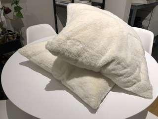 x2 cushions from ikea