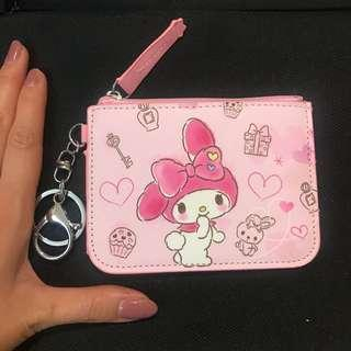 🚚 Hello Kitty pouch with coin slot (my melody/ peanuts / Snoopy / Twin Star)