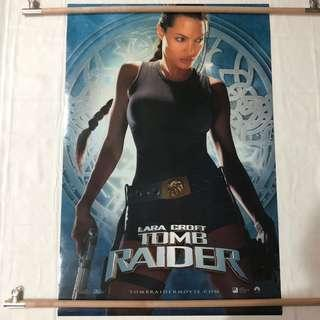 LARA CROFT TOMB RAIDER original movie poster