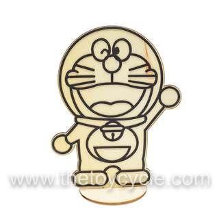 DIY Cute Cartoon Character Craft Set w/ Standing Wood