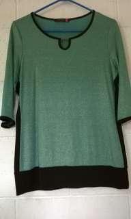 SM Women Green Blouse