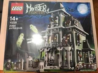 平售 全新 Lego Monster Fighter 10228 鬼屋 盒有凹