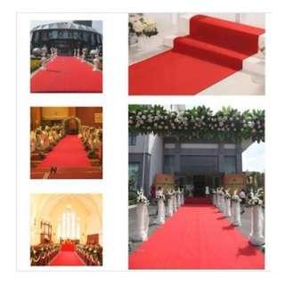 3mm thick Exhibition Carpet - red/grey/green/black/dark blue