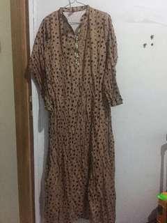 Beautiful Leopard dress maxi