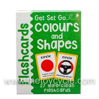 Educational Flash Cards - Colors and Shapes