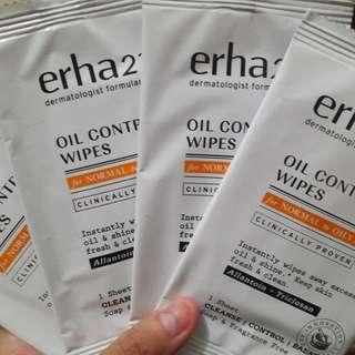 Oil Control Wipes by Erha