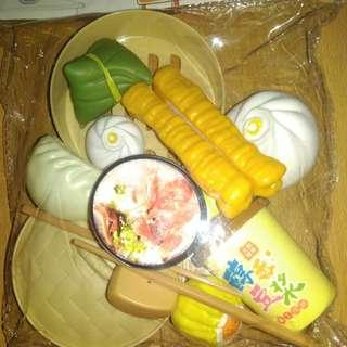 BRANDNEW DIMSUM CHINESE FOOD SET TOY (SMALL)