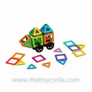 🚚 Educational Magnetic Shapes Builder MagWorld