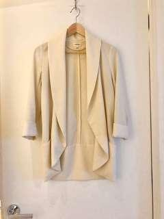 Aritzia Wilfred chevalier blazer jacket