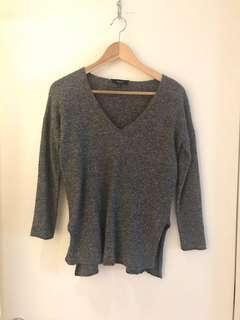 Aritzia Babaton Erin sweater with linen