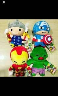 Marvels soft toys