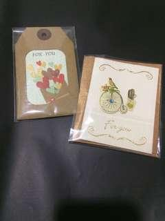 Card wishes card
