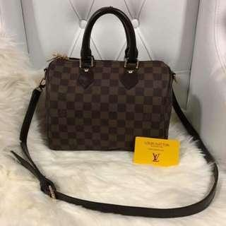 AUTHENTIC LV SPEEDY BANDOULIERE 25