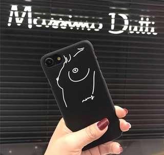 Cute Artistic tits Iphone 7 Plus Cover