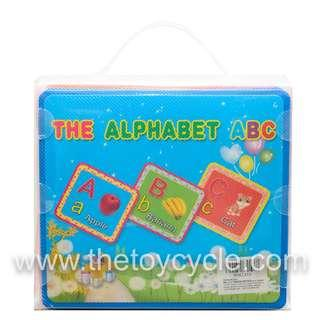 🚚 Educational Alphabets A to Z Flash Cards (13 pcs)