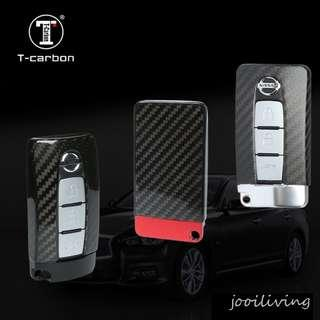 T Carbon Exclusive Design Key Shell for Nissan GTR and INFINITI