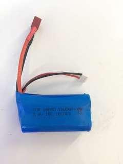 Arduino 7.4v 1500mAH 18650 Li-ion Rechargeable Battery
