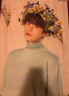 BTS Love Yourself World Tour Suga Poster