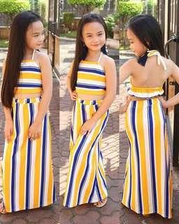 👉stripes blouse & skirt terno 👉6-7years old 👉looking for more active and loyal resellers 👉150 ==cut off== Sunday sending of orders Monday payments Tuesday supplierday Wednesday shipping meet up..