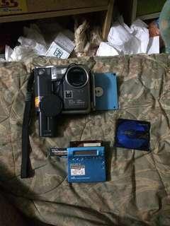 Camera &MD Player Sony RARE utk di jual