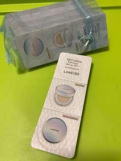 $10/1(2條起包郵)laneige bb cushion sample whitening  13 13c 21 21c 23 23c