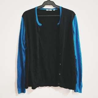 ✨REPRICED UNIQLO Colorblock cardigan