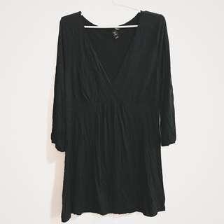 ✨REPRICED✨ H&M black dress top