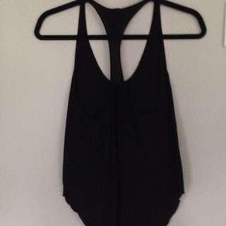 Aritzia Wilfred Black Top - Size XS