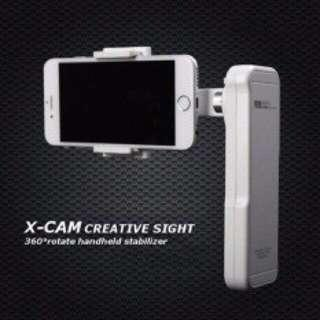 Sight 2 X-cam 2 axis Brushless Gimbal Creat sight Handheld Stabilizer with Bluetooth