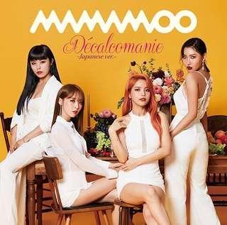 Mamamoo Decalcomanie Japanese Version ( Regular, type A, type B, type C)