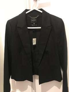 Portmans Size 12 Black Suit Jacket - Brand New With Tags