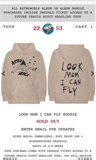 TRAVIS SCOTT LIMITED EDITION ASTRO WORLD HOODIE
