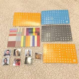 Moleskine and Famous People Planner Sticker Bundle